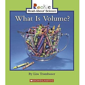What Is Volume? (Rookie Read-About Science)