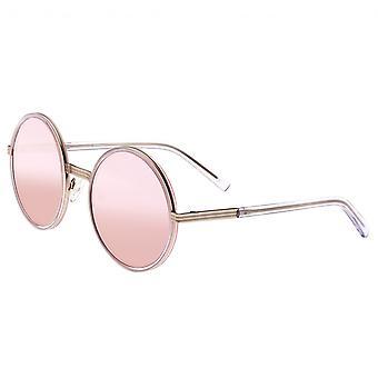 Bertha Riley Polarized Sunglasses - Silver/Pink