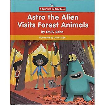 Astro l'étranger visite animaux de la forêt (début à lire, Astro l'étranger)