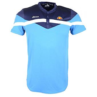 Ellesse Buricot Slim Fit Polyester blau Polo