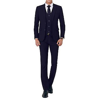 Allthemen mannen 3-delig pak bruiloft smoking Slim Fit