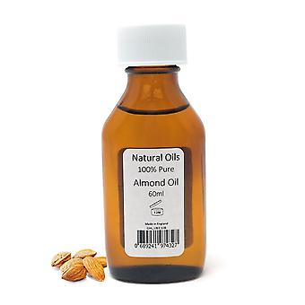 Naturlige oljer-Almond Oil 100% Pure-60ML