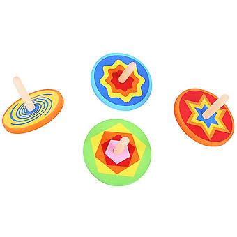Bigjigs Toys Snazzy Spinning Tops