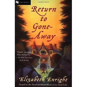 Return to Gone-Away (Gone-Away Lake Books) Book