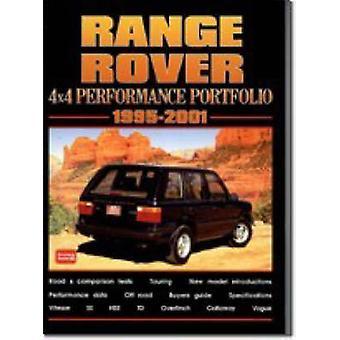 Range Rover 4x4 Performance Portfolio 1995-2001 by R. M. Clarke - 978