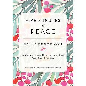 Five Minutes of Peace by Five Minutes of Peace - 9781982105341 Book