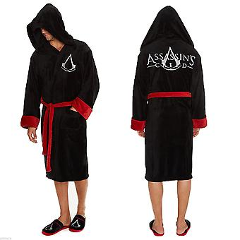 Assassins Creed Dressing Gown / Bathrobe - Black