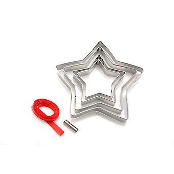 Eddingtons Star Cookie Cutters, Christmas Tree Decoration Kit