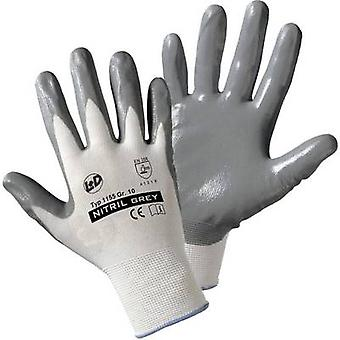 L+D worky Nitril- knitted 1155 Nylon Protective glove Size (gloves): 10, XL EN 388:2016 CAT II 1 pair