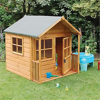 Rowlinson Playaway Tongue and Groove Wooden Playhouse - Dip Treated