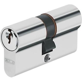 ABUS Europäischer Zylinderschlüssel serreta e50 30 + 40. Nickel.
