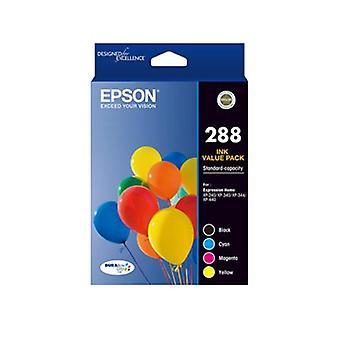 Epson 288 4 set färg bläck pack