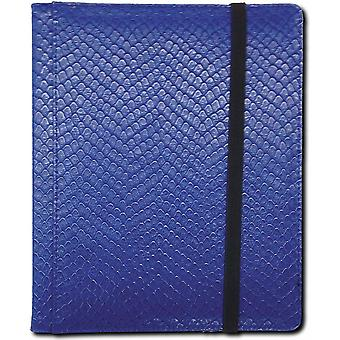 Legion-Dragonhide/Dragon's scales-9 pocket collector binder-BLUE