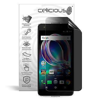 Celicious Privacy Plus 4-Way Anti-Spy Filter Screen Protector Film Compatible with Alcatel Idol 5S