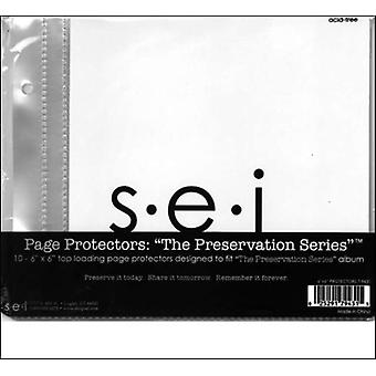 S.E.I. Preservation Series Page Protectors 6