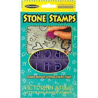 Stone Stamps Victorian Style Letters & Numbers 905 20 511