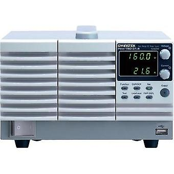 Bench PSU (adjustable voltage) GW Instek PSW160-14.4 0 - 16 Vdc 0 - 14.4 A 720 W No. of outputs 1 x