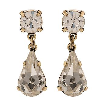 Martine Wester Stargazer Crystal Pear Drop Earrings