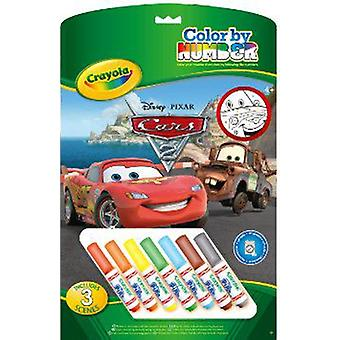 Crayola Cars Color By Number