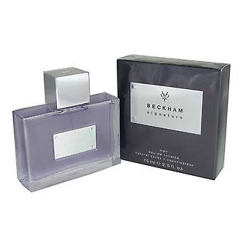 David Beckham Signature for Men by 2.5 oz EDT Spray