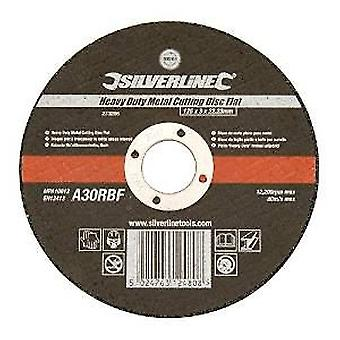 Silverline Flat disc for metal cutting 125x3x22,23 mm