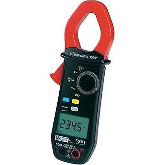 Clamp meter, Handheld multimeter digital Chauvin Arnoux F201 Calibrated to: Manufacturer's standards (no certificate) C