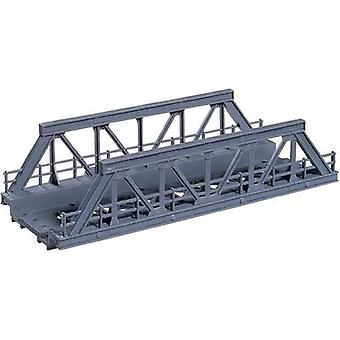H0 Lattice truss bridge 1-rail Universal (L x W x H) 180 x 70 x 45 mm NOCH 21330