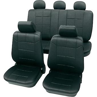 Seat covers 17-piece Petex 22574901 Dakar SAB 1 Vario Plus Polyester Anthracite