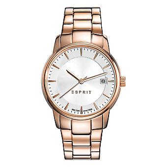 ESPRIT ladies watch bracelet watch Victoria stainless steel Rosé ES108382002