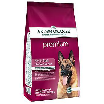 Arden Grange Premium rige i fersk kylling & ris 12kg