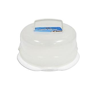 Royle Home 31cm Plastic Cake Saver with Handle Perfect to Keep Cakes Fresh