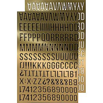 Idea-Ology Metallic Stickers 4.75