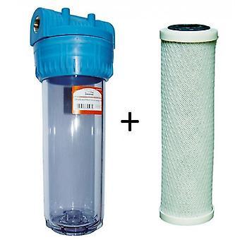 """1/2 """"3/4"""" 1 """"BSP hela huset vattenrenare filtrera System Kit med filter"""