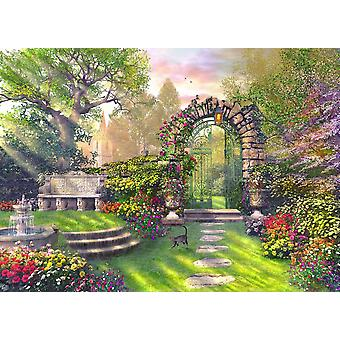 The Garden Gates Poster Print by Dominic Davidson