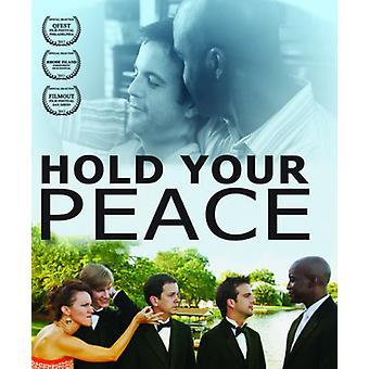 Mantenga importación USA tu paz [Blu-ray]