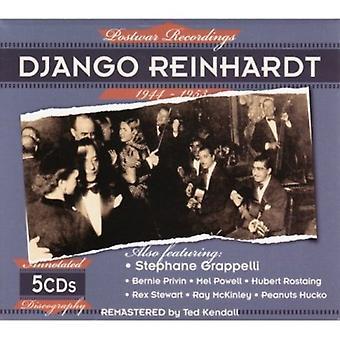 Django Reinhardt - importación de USA grabaciones posguerra 1944-1953 [CD]