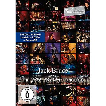 Jack Bruce - Rockpalast: 50th Birthday Concerts [DVD] USA import
