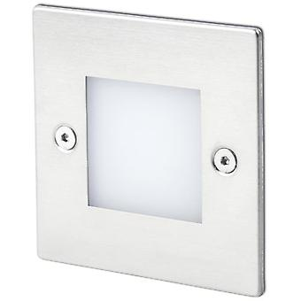 Faro Bcn Empotrable Frol Niquel Mate Led 0,8W 3000K