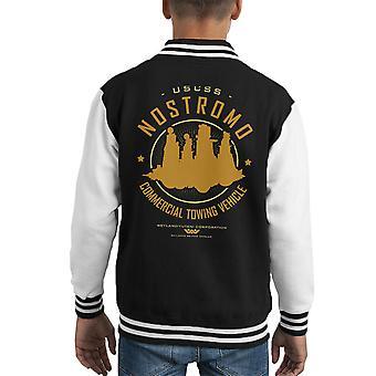 Varsity Jacket bimbo alieno USCSS Nostromo Starfreighter