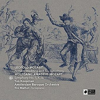 Mozart / Koopman, Ton / Amsterdam Barokorkester - Mozart: bonden bryllup & legetøj symfoni [CD] USA import