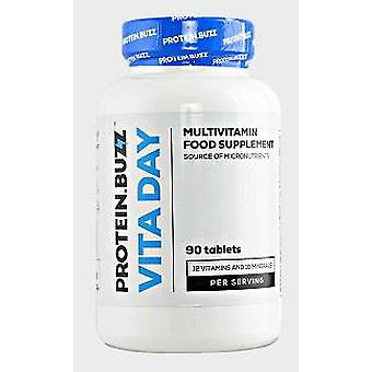 Protein Buzz  Taste Vita Day 90 Tablets (Sport , Others)