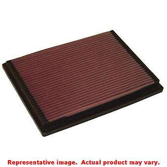 K&N Drop-In High-Flow Air Filter 33-2703 Fits:MERCEDES-BENZ 1994 - 1996 C220 L4