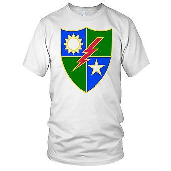 Amerikaanse leger 75 Ranger Regiment onderscheidend eenheid Insignia schone Effect Kids T Shirt