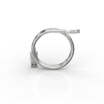 FUSE CHICKEN sync cable MicroUSB TITAN TRAVEL 0.5 m Silver
