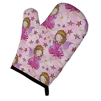 Carolines Treasures  BB7547OVMT Watercolor Fairy Princess on Pink Oven Mitt