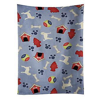 Carolines tesoros BB4043KTWL perro casa colección Afghan Hound toalla de cocina