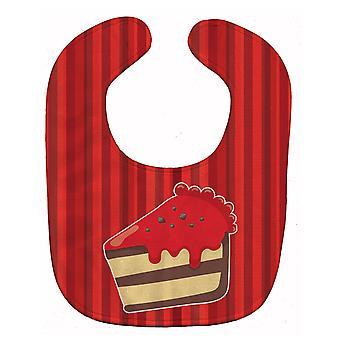 Carolines Treasures  BB6815BIB Christmas Cake Baby Bib