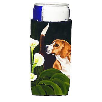 Beagle Lillies Ultra Getränke Isolatoren für schlanke Dosen