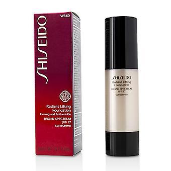 Shiseido Radiant Lifting Foundation SPF 17 - # WB60 Natural Deep Warm Beige - 30ml/1.2oz