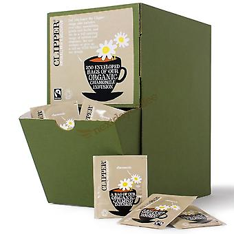 Clipper, Fairtrade Organic Chamomile Envelopes, 250 bags